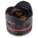 Samyang 8mm f2.8 lens fish eye lens for Fuji X