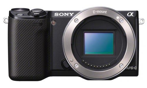 Sony NEX-5r front