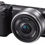 Sony NEX-5r with lens