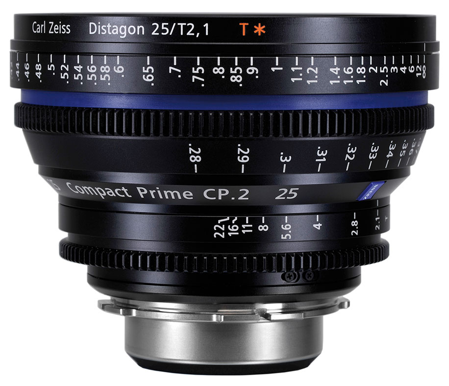 New from Carl Zeiss: CZ.2 28-80mm/T2.9 and CP.2 25mm/T2.1 ...