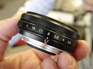 Fujinon Super EBC XF 27 mm f/2.8 R