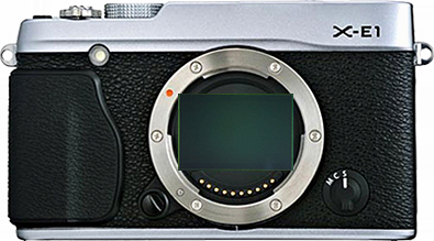 Full frame senor inside Fuji's XF mount
