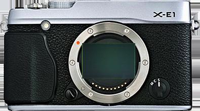 Fuji X-E1 full frame sensor