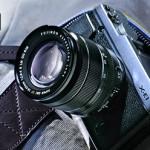 Fuji X-E1 mirrorless camera