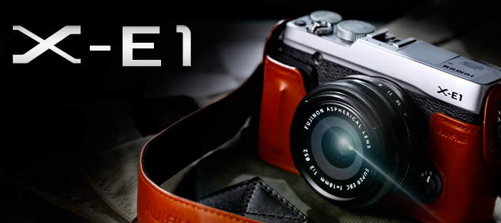 Fujifilm X-E1 announced in Korea