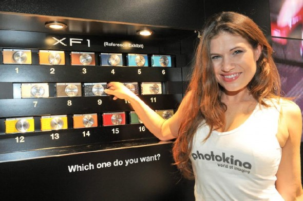 Fujifilm XF1 Photokina 2012 show