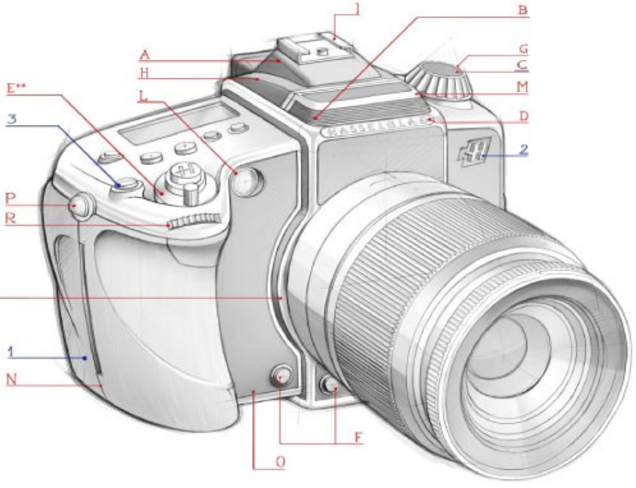 Hasselblad-A-mount-camera