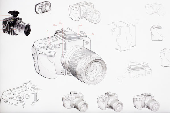 Hasselblad S Drawings For A Compact Camera Based On The