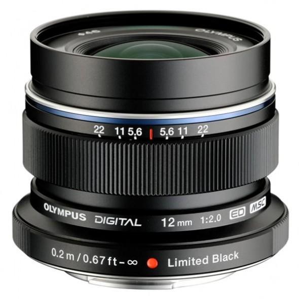 Olympus AF 12mm f2.0 Limited Edition lens 2