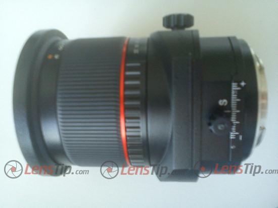 Samyang 24mm f/3.5 tilt-shift lens