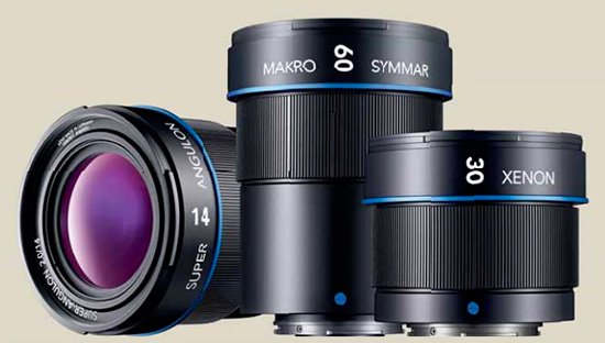 Schneider-Kreuznach lenses for Micro Four Thirds