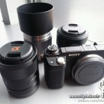 Sony NEX-6 and new a lenses