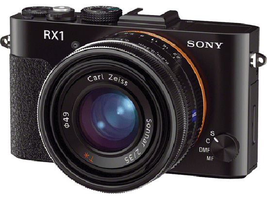 Sony RX1 full format fix lens compact camera