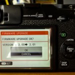 Fuji XF lenses 2.01 firmware update
