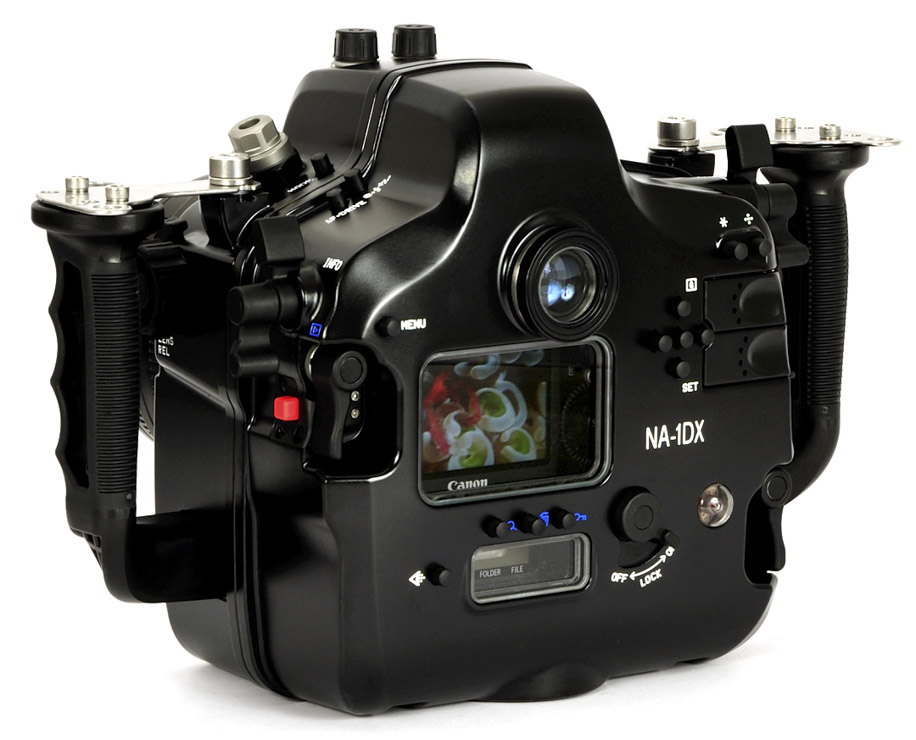 underwater camera housings for Canon EOS 1D X and 1D C camera 5