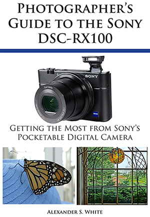 Photographer's Guide to the Sony DSC-RX100″ book giveaway