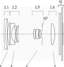 Canon 18-70mm f:2.8-6 lens patent