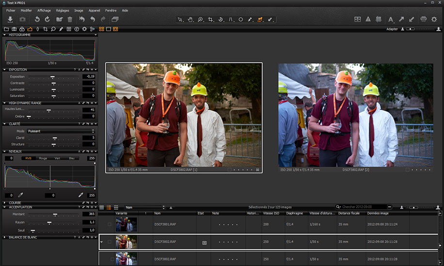 Capture One Pro full screenshot