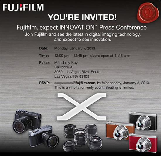 Fujifilm-announcement-CES-2013