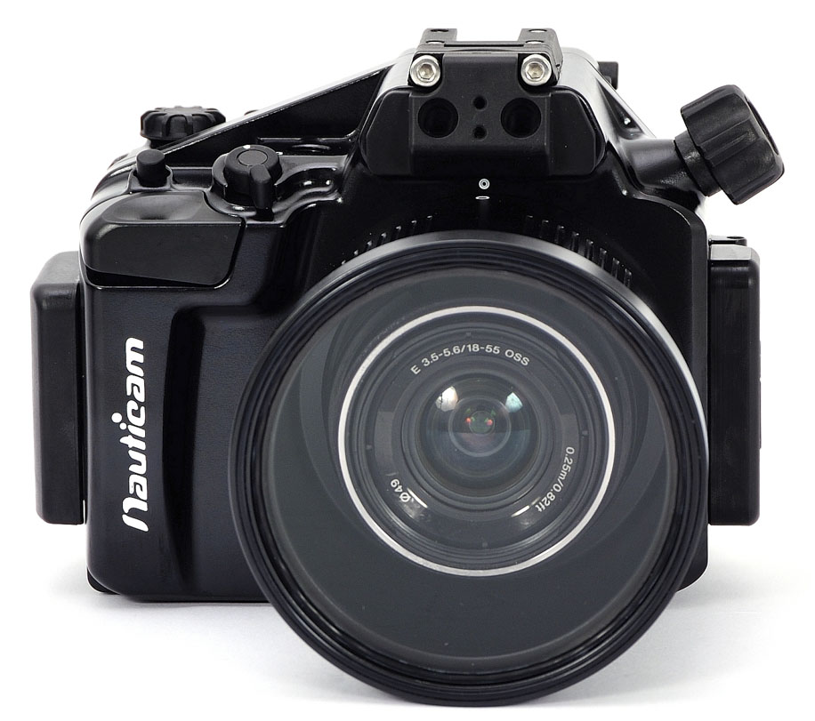 Nauticam na nex5r underwater housing for sony nex 5r mirrorless camera