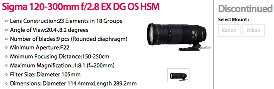 Sigma-120-300mm-f2.8-EX-DG-OS-HSM-lens-discontinued