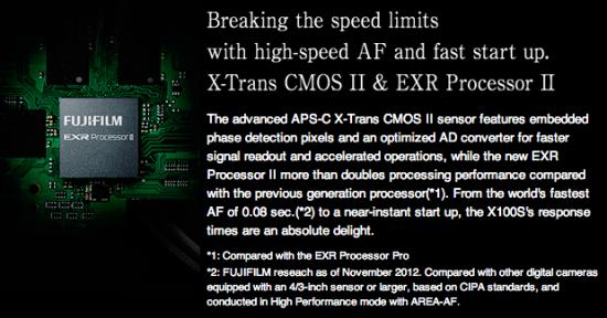 Fuji-X100s-X-Trans-CMOS-II-sensor-and-EXR-II-processor