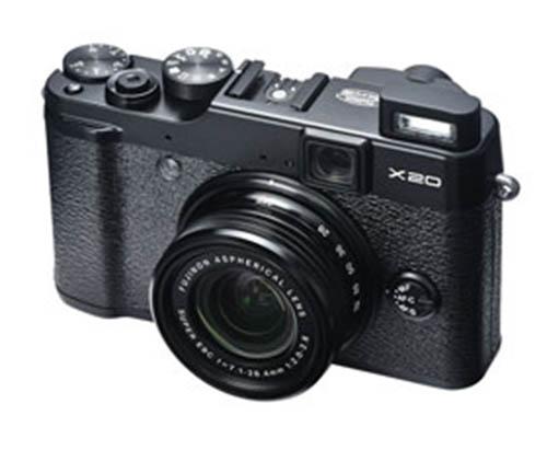 Fuji-X20-black-camera
