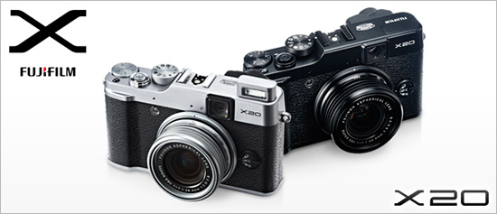 Fujifilm-Finepix-X20-camera