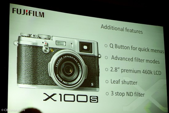 Fujifilm-X100s announcement