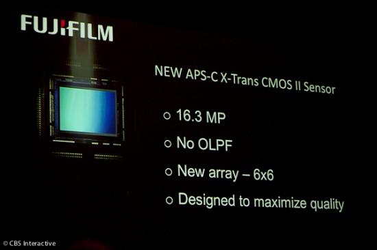 Fujifilm new APS-C X-Trans CMOS II sensor