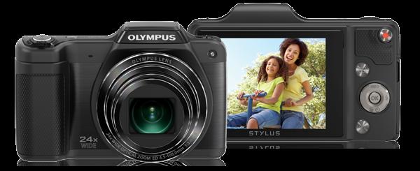 """Olympus SZ-15: 16MP, 24x/48x zoom, 3"""" LCD, HD video"""