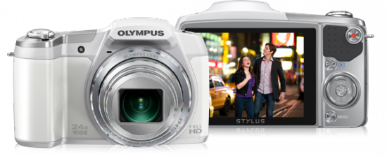 Olympus sz-16-white