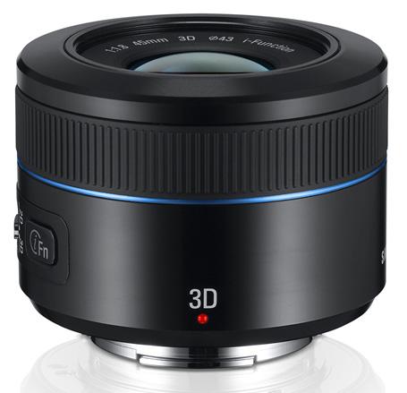 Samsung-45mm-2D-3D-lens