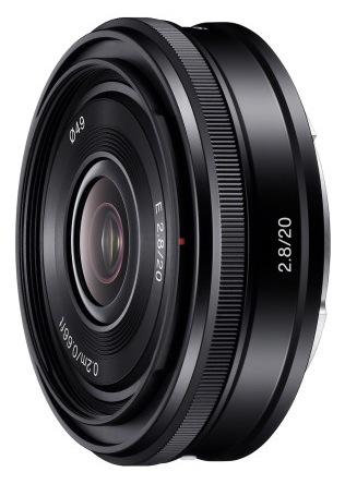 Sony 20mm f2.8 lens SEL20F28