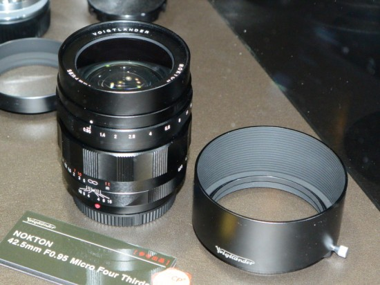 Voigtländer Nokton 42.5mm F0.95 lens for Micro Four Thirds