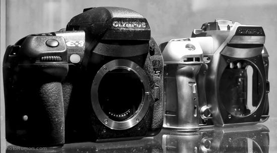 Olympus DSLR camera