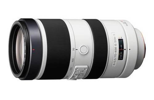 Sony 70-400mm f4-5.6G SSM II lens