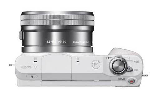 Sony NEX-3n camera top