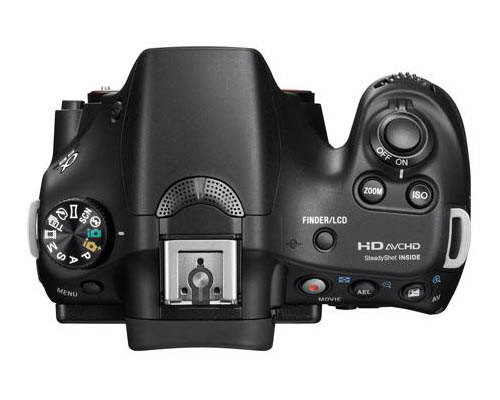 Sony a58 top