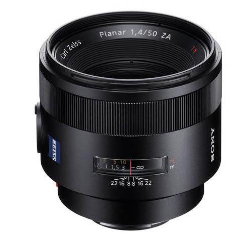 Zeiss Planar T 50mm f:1.4 ZA SSM lens