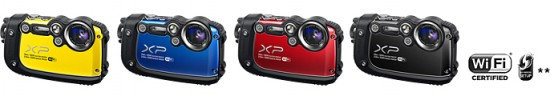 Fujifilm FinePix XP200 camera