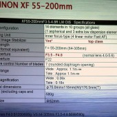 Fujifilm-XF-55-200mm-f3.5-4.8R-LM-OIS-lens-specifications