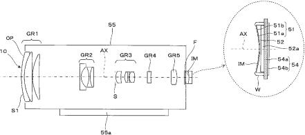 Konica Minolta curved image sensor patent