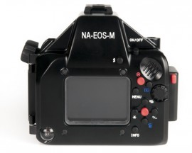 Nauticam NA-EOSM underwater housing for Canon EOS M4