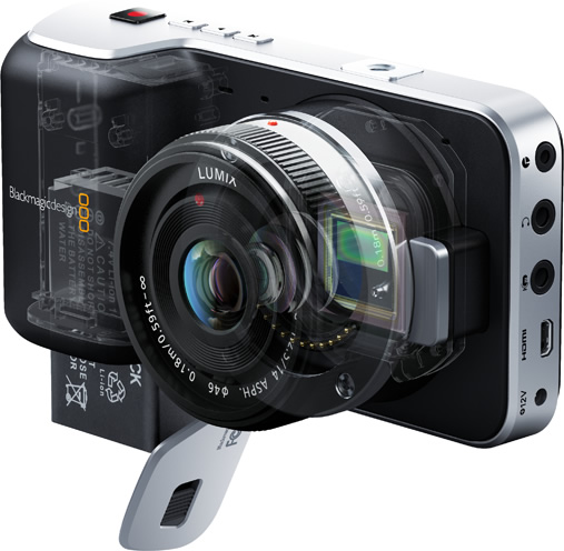 Blackmagic Pocket Cinema Camera design