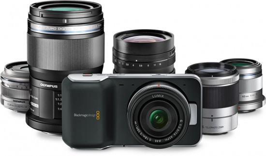Blackmagic Pocket Cinema Camera mft-lens-mount