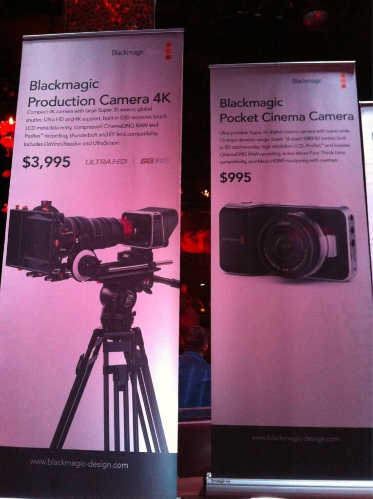 Blackmagic compact Micro Four Thirds cinema camera
