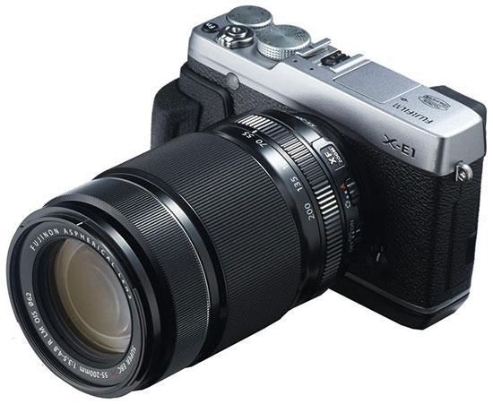 Fujifilm-Fujinon-XF-55-200mm-f3.5-4.8R-LM-OIS-lens-on-X-E1