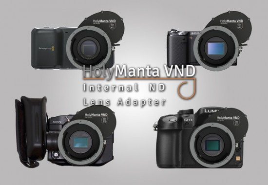 HolyManta internal ND lens Adapter