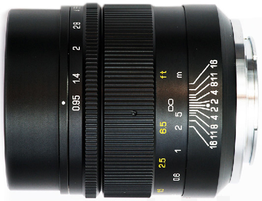 Mitakon-35mm-f0.95-lens-black